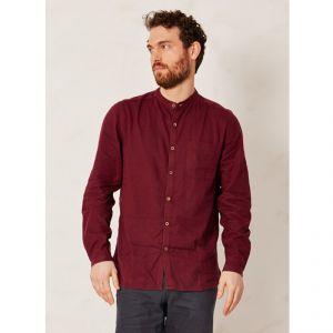 "BT15MWT2478 Long sleeves Korean Shirt ""Solid Granpa"" Man BRAINTREE ®"