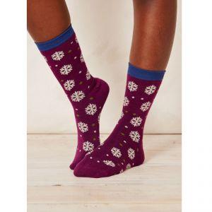 """BT15LS133 """"Blair Snowflake"""" Socks Woman BRAINTREE ®"""
