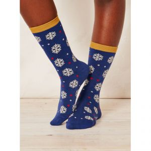 "BT15LS133 ""Blair Snowflake"" Socks Woman BRAINTREE ®"