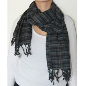 Scottish Scarf 100% Cotton Unisex HANDMADE